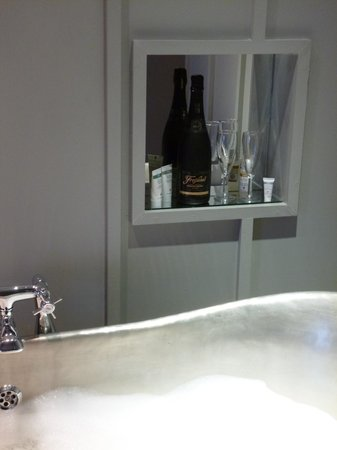 Number Thirty Eight:                   Bubbles to be enjoyed in the bath!