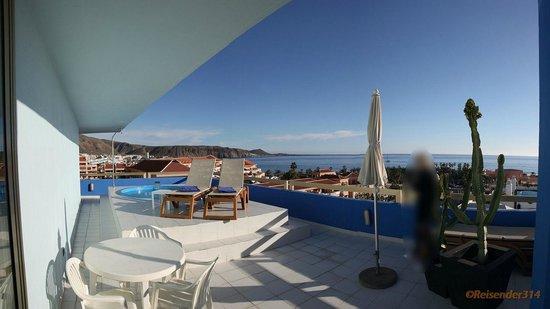 Mediterranean Palace Hotel:                   Zimmer 6080 Terasse