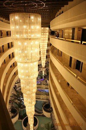 Mediterranean Palace Hotel:                   Innehalle vom 6OG