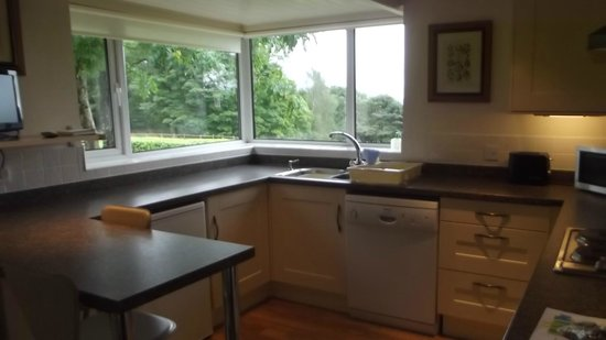 Sawrey Knotts:                   Kitchen diner, even has its own TV