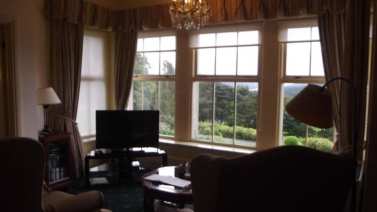 Sawrey Knotts:                   Perfect place to sit with a glass of wine and look at the view