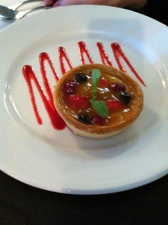 The Plough Bar & Restaurant:                   Fruit Tart