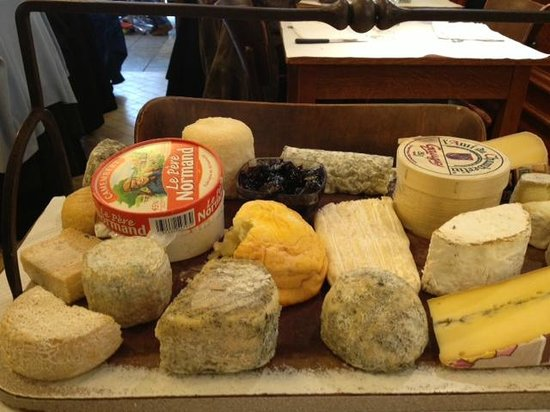 Le Berry:                   Cheese board