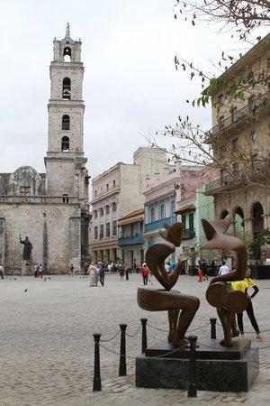Old Havana: St. Sebastian square