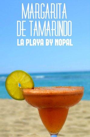 La Playa by Nopal: Margarita de Tamarindo