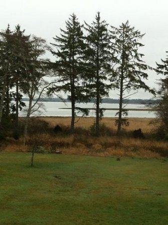 Westport Bayside Bed & Breakfast:                   out our window
