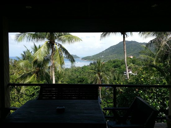 Koh Tao Heights Exclusive Apartments:                   Uitzicht op deze fantastisch rustige plek.