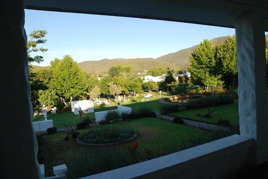 De Opstal:                   Lever du soleil depuis notre terrasse