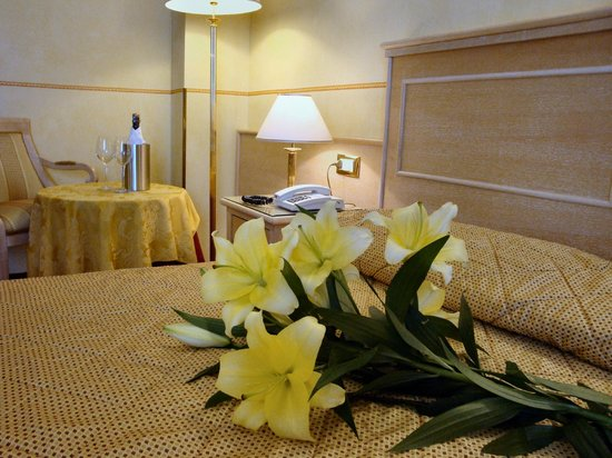 Hotel Byron: Le camere
