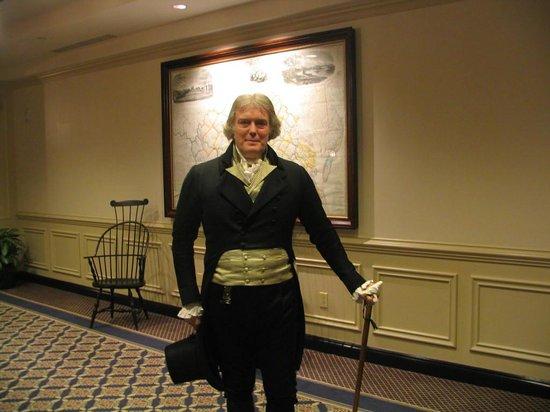 Williamsburg Colonial Tours:                   Thomas Jefferson