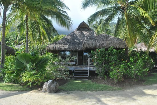 InterContinental Resort & Spa Moorea:                   Bungalow plage