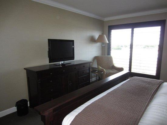 Cupertino Inn: Vista desde la cama