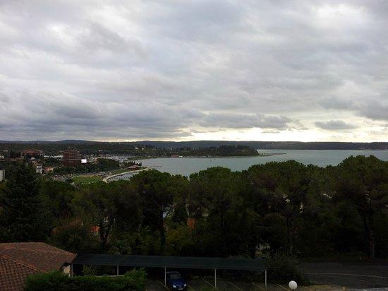 Hotel Tomi: vista dal terrazzino