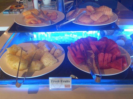 Hotel H2O: Part of breakfast buffet