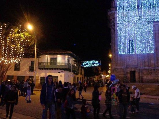 Hotel Tequendama: zona candelaria
