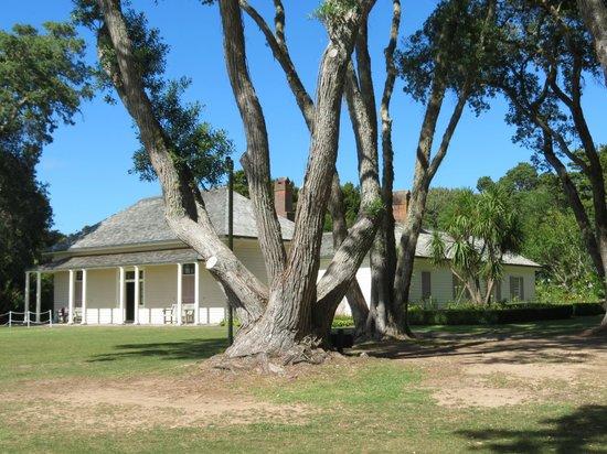 Waitangi Treaty Grounds:                   James Busby's House