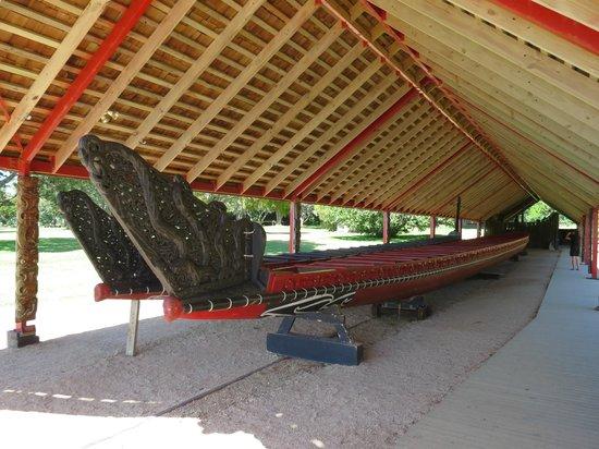 Waitangi Treaty Grounds:                   The Long Boat