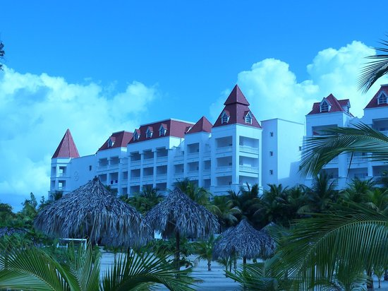 Grand Bahia Principe Jamaica:                   Side view of hotel