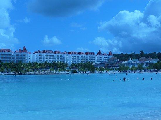 Grand Bahia Principe Jamaica:                   View from Beach