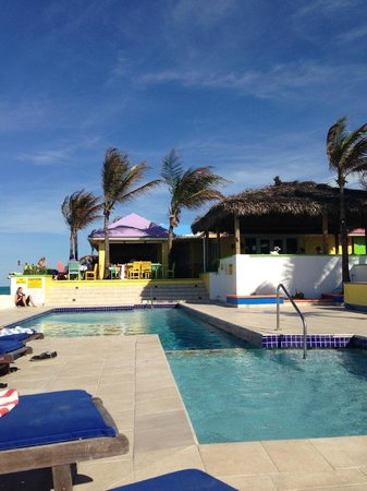 Compass Point Beach Resort:                   The pool