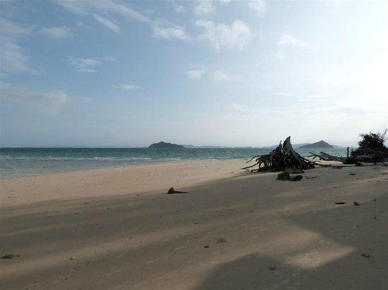 Bulonhill Resort:                   Beach - low tide