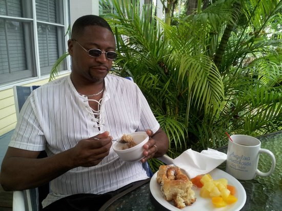 Angelina Guest House:                   breakfast is wonderful