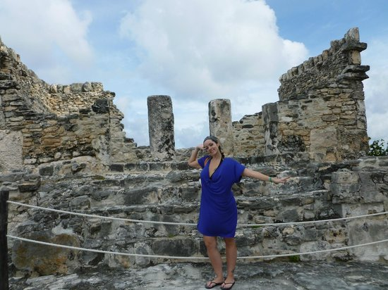 Park Royal Cancun:                   These are the ruins on the property