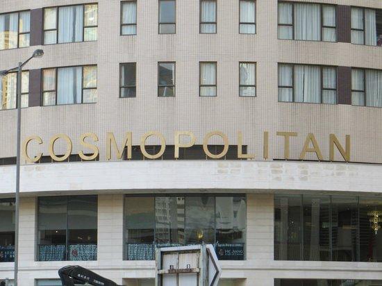 Cosmopolitan Hotel Hong Kong:                   front view of hotel