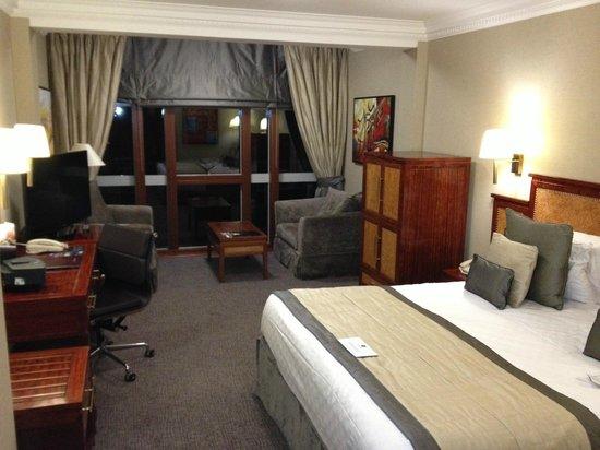 Grange City Hotel:                   Bedroom