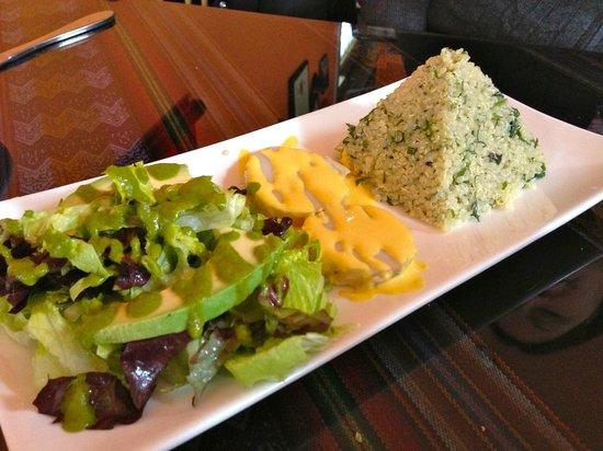 El Tule Authentic Mexican & Peruvian Restaurant:                   Tabouli Quinoa