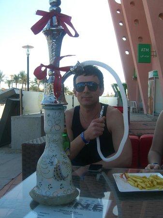 Bar1 :                   Enjoying a smoke (legal stuff)