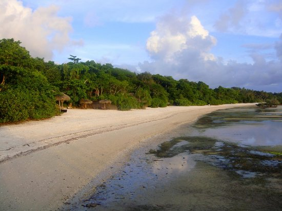 Fundu Lagoon:                   Main beach