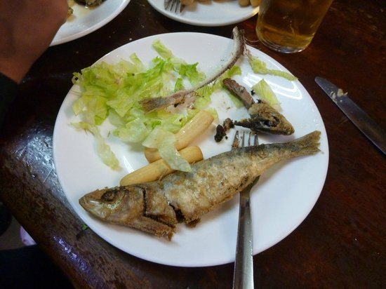 Bodega Santa Cruz:                   Fried fish