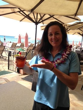 The Royal Hawaiian, a Luxury Collection Resort: view from The Mai Tai Bar