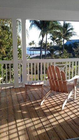 Tranquility Bay Beach House Resort:                   Beautiful view from our 2nd floor Master bedroom balcony