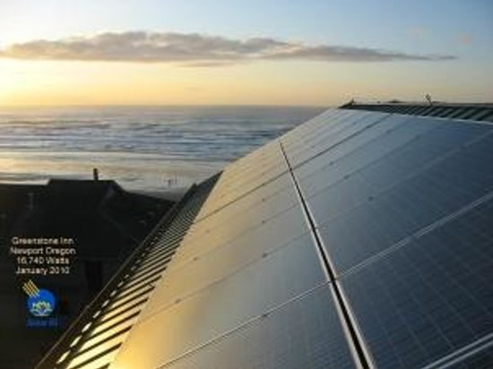 Inn at Nye Beach: Solar Energy