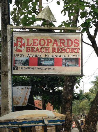 D'Leopard's Beach Resort and Hotel: Entrance
