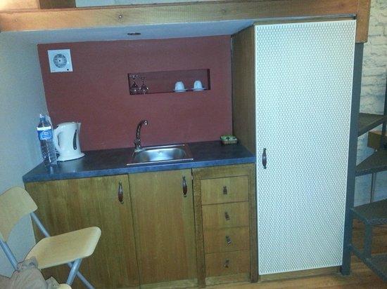 Peradays:                   Wasserkocher,Kühlschrank