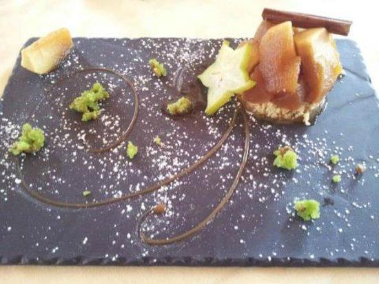 Hotel Mercure - Les Arcs 1800:                   un dessert saveur dantan