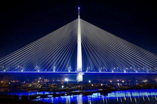 Belgrade Walking Tours: Magnificent Ada bridge