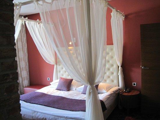Hotel Balnea Superior:                   il letto