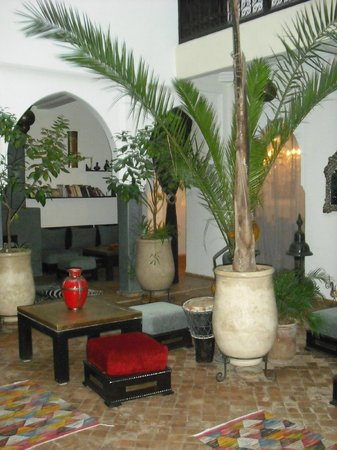 Riad Chafia:                                     patio