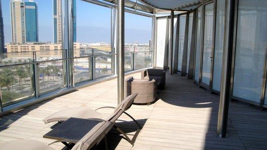 Armani Hotel Dubai:                   Extra Large Balcony