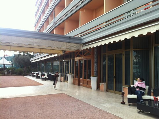 Hotel Abano Terme Cristoforo:                   Ingresso