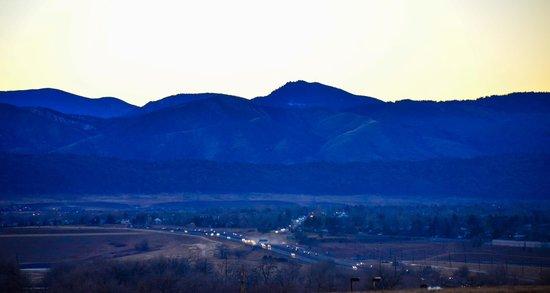 Hilton Garden Inn Denver / Highlands Ranch : View of Rocky Mountains