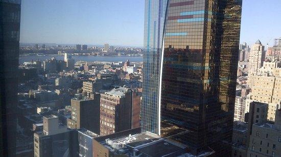 Hilton Times Square:                   View