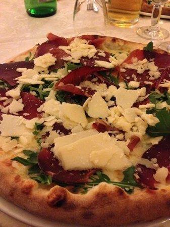 Baronissi, Ιταλία: Pizza alla bresaola