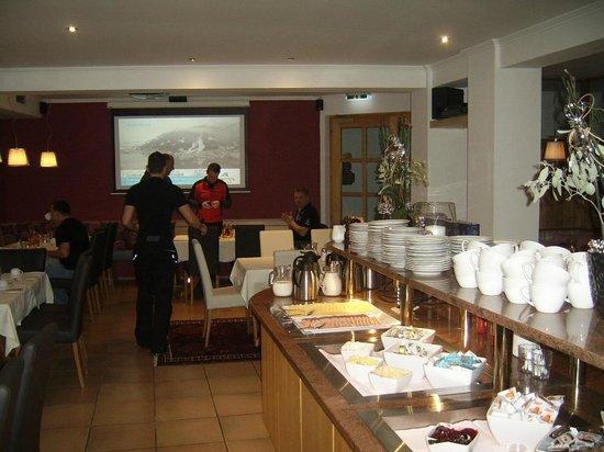 Hotel St. Florian:                   ontbijt