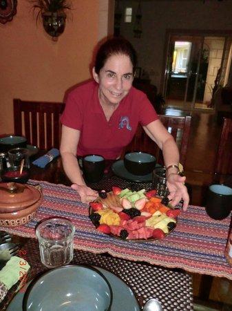 Cascadas de Merida:                   Ellyne and breakfast beginnings
