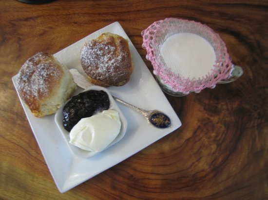 Allara Homestead Bed & Breakfast: Scones on arrival